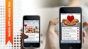 What's the priority for your enterprise: mobile app or mobile website?