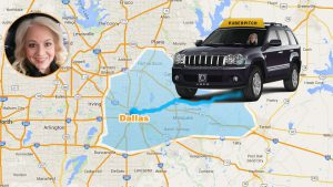 Lisa Russell pitches mobile app idea to #UberPITCH in Dallas