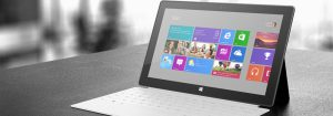 Microsoft Enters Tablet Arena with Surface
