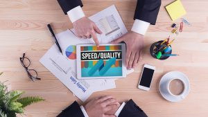 Tradeoff between speed & quality- An illusion.