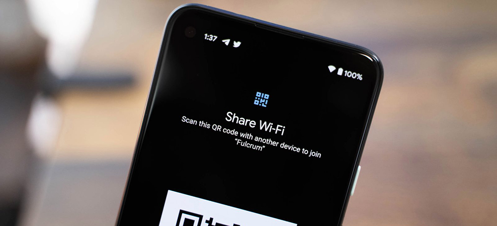 Android 12 features: Easy wi-fi sharing
