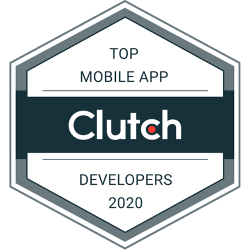 Clutch Recognizes Copper Mobile as top mobile app developers 2020