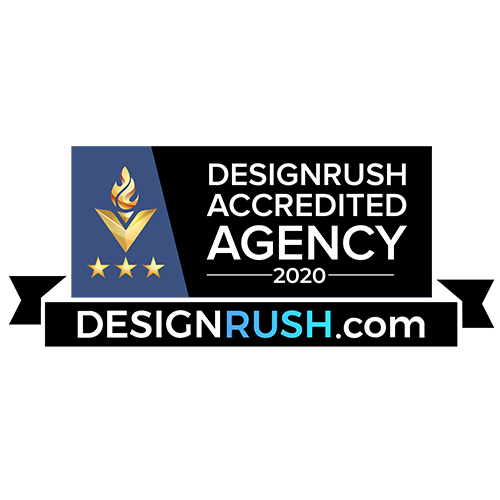 Copper Mobile has been awarded by Designrush Accredited Badge-2020