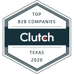 COPPER MOBILE Listed in Clutch Top B2B companies - 2020